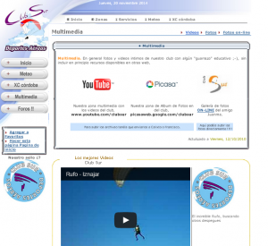 captura web antigua